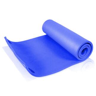 cPro9 Træningsmåtte 183 x 61 x 1,5 cm Blå m. Ophængshuller