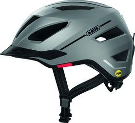 Abus Pedelec 2.0 MIPS Hjelm m. LED lys - Sølv (elcykel hjelm)