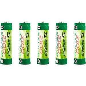 Batterisæt Accu 2100mah 5 Stk. AA - Batteri