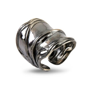 By Birdie Nebula Grand ring - 50110195B Ox. sølv 56