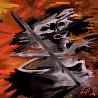 Falling Ghost af Jacob Andreasen