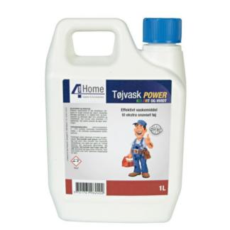 Flydende vaskemiddel til ekstra snavset tøj - 1 Liter
