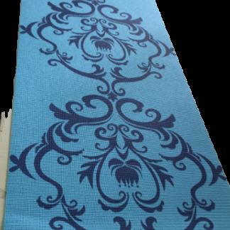 Odin Bohemian Yogamåtte 173 x 61 x 0,6 cm Blå