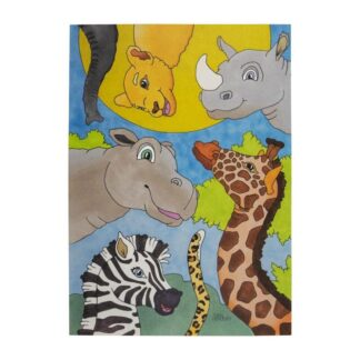 Plakat savannen - 40 x 50 cm