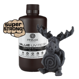 PrimaCreator Super Strong UV Resin - 1000 ml - Black