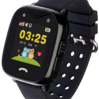 Smartwatch Sweet - 2G smartwatch til Børn - GPS / Vandtæt / SOS / Alarm / kamera - Sort