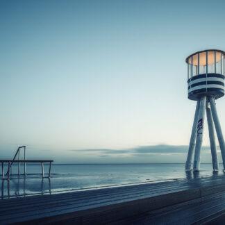 Bellevue Lifeguard Tower af Henrik Wessmann
