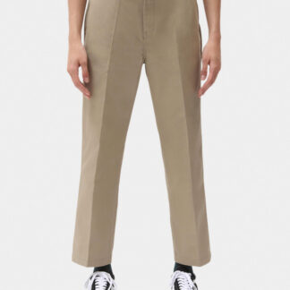 Dickies 874 Women Cropped Work Pants (Khaki, W24)