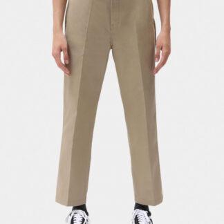 Dickies 874 Women Cropped Work Pants (Khaki, W28)