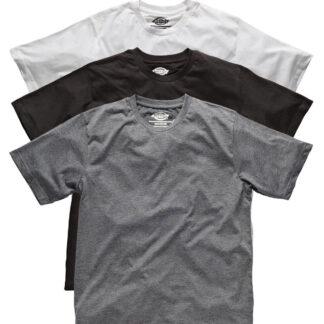 Dickies Multi-color T-shirts - 3-pak (Sort / Hvid / Grå, 3XL)