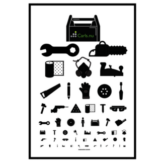 Handymandens Synstavle A3 plakat