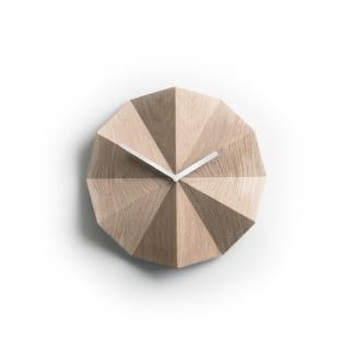 Lawa Design - Delta Clock Eg/Hvid