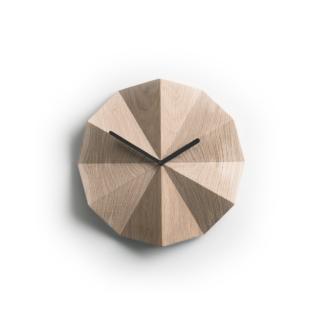 Lawa Design - Delta Clock Eg/Sort