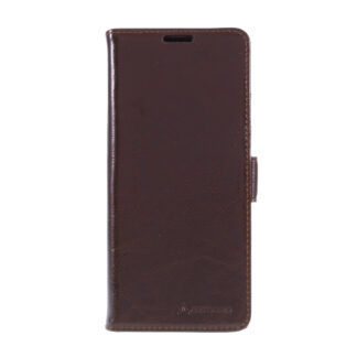 OnePlus Nord N10 - AZMARO ægte læder cover / pung - Brun