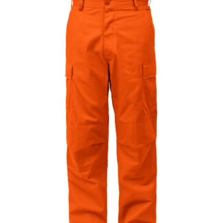 "Rothco BDU Bukser (Orange, Small / 27""-31"")"