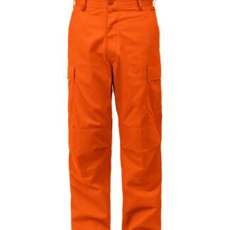 "Rothco BDU Bukser (Orange, X-Small / 23""-27"")"