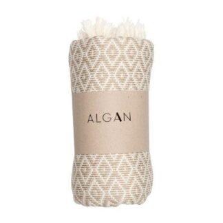Tyrkiske hammam håndklæder beige