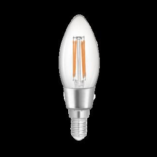 WiZ Filament Clear Tunable White Wi-Fi C35 E14