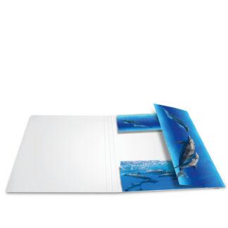 Herma elastikmappe pap A4 delfin
