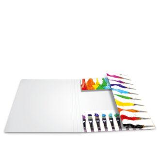 Herma elastikmappe pap A4 farver