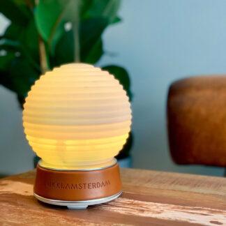 The.Diffuser - LED Lampe med Aroma fordamper - Inkl. 6 olier