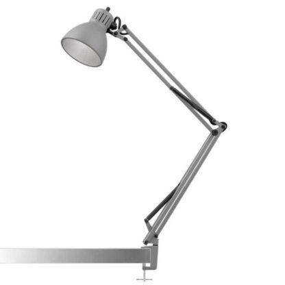 Archi T1 Junior Bordlampe med klemme Silk Grey - Nordic Living