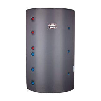 Isoleret akkumuleringstank - 1000 liter