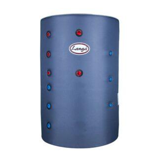 Isoleret akkumuleringstank med sanitetsspiral - 300 liter