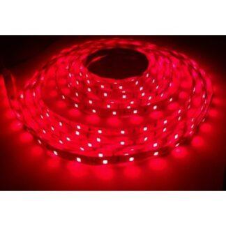 Nær infrarød 730nm 4,8W/m LED strip - 5m, IP20, 60 LED pr. meter